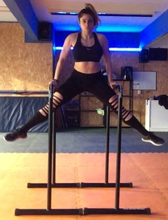 Paralelas 1,20m - Push Up Bar Gigante Calistenia - DRG