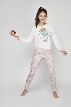 Pijama-So Coffee Queen-So Pink! (SP11559) - comprar online