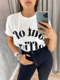 "Cropped t shirts ZNL ""out of office"""