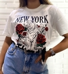 "T shirts ""NEW YORK"" tigre"