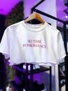 "Cropped t shirts lerrux ""to time for romance"""