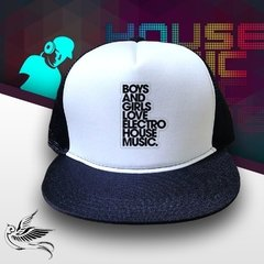 BONÉ BOYS AND GIRLS ELETRO HOUSE MUSIC - loja online