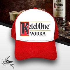 BONÉ VODKA KETEL ONE RED - loja online