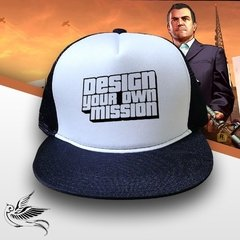 BONÉ GTA DESIGN YOUR OWN MISSION - loja online