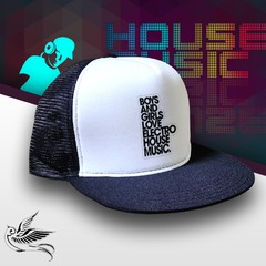 BONÉ BOYS AND GIRLS ELETRO HOUSE MUSIC - comprar online