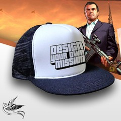 BONÉ GTA DESIGN YOUR OWN MISSION - comprar online
