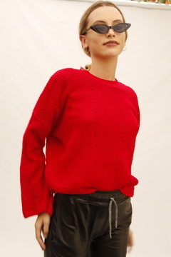 SWEATER MONTMARTRE ROJO en internet