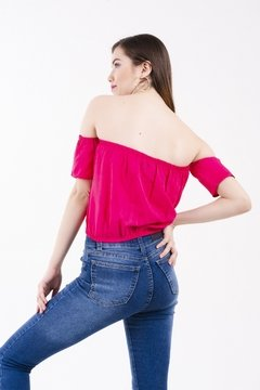 TOP ANDRESSA FUCSIA