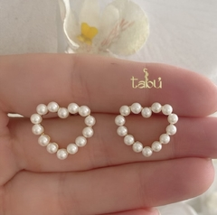 ARETES HEART PEARL