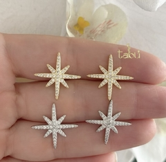 ARETES NORTH POLE STAR GOLD O SILVER - comprar online