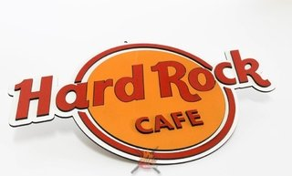 Hard Rock - Placa Decorativa