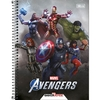 Caderno Universitário Avengers Game 80 Fls M2