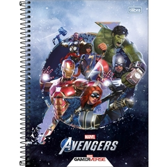 Caderno Universitário Avengers Game 80 Fls M4