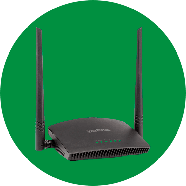 ROTEADOR WIRELESS INTELBRAS RF 301K 300MBPS
