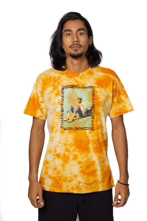 Other Culture - Camiseta Creator Tie Dye Amarela