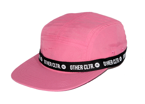 Other Culture - Five Panel Sport Band Pink