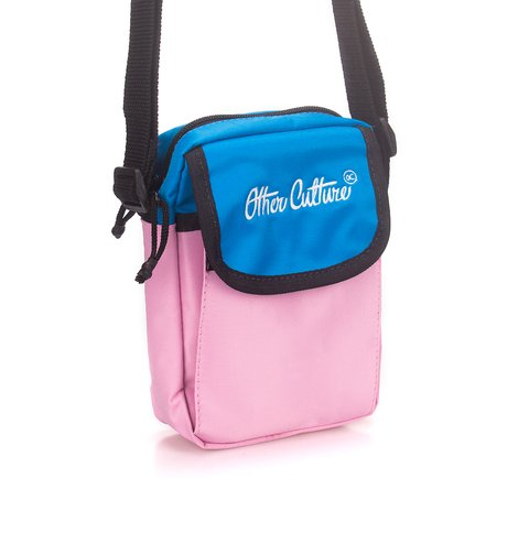 Other Culture Mini Bag - Classic Brand Blue Pink