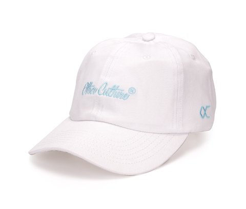 Other Culture bone aba curva Branco Dad Hat - Signature Brand White