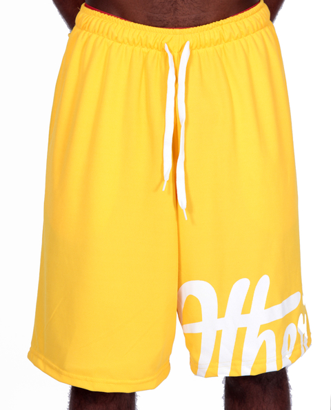 Other Culture Shorts Casual OC Big Signature Amarelo