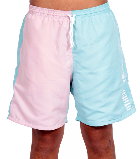Other Culture - Shorts Sport Bicolor Tiffany