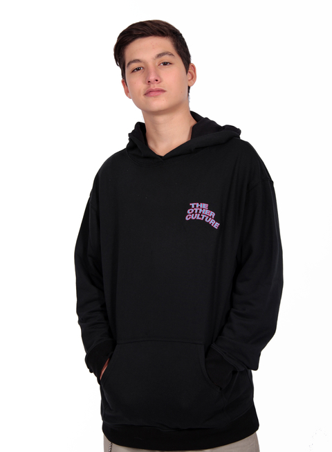 Other Culture Hoodie Wavy Preto