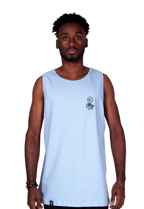 Other Culture Tank Top Summer Signature Azul