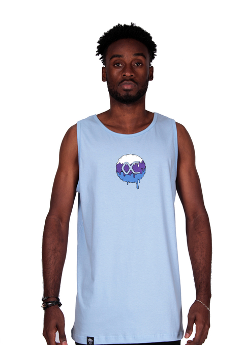 Other Culture Tank Top Melting Logo Azul
