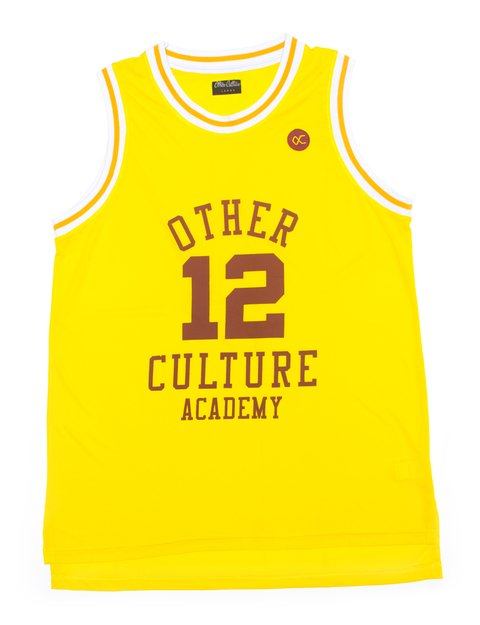 OTHER CULTURE CAMISA BASQUETE - ACADEMY YELLOW