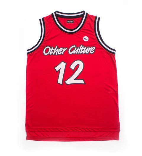 OTHER CULTURE CAMISA BASQUETE - OC LAND RED