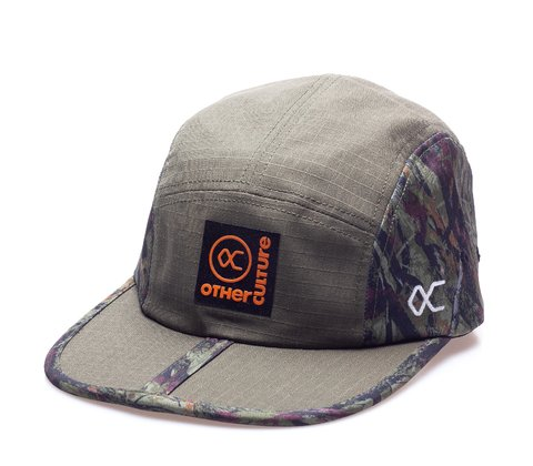 Other Culture bone preto Five Panel - Forest Camo