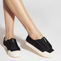 Sneaker Smash Canvas Black - SCHUTZ