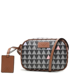 Bolsa Baby Crossbody Triangle Black - SCHUTZ