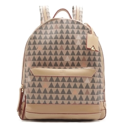 Mochila New Triangle Amendoa - SCHUTZ