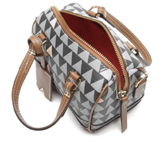 MINI BOWLING BAG TRIANGLE - SCHUTZ