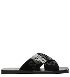 SLIDE JELLYS CROSS BLACK - SCHUTZ1