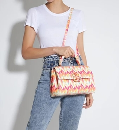 BOLSA SATCHEL PENNY FRESH ORANGE - SCHUTZ