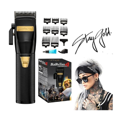 Babyliss 4Barbers Black Fx Stay Gold