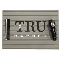 Tru Barber Station Mat Gris Big 49x34 CM