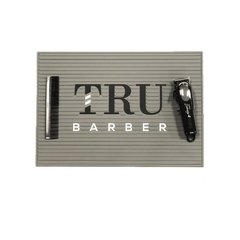 Tru Barber Station Mat Gris Small 34x23 CM