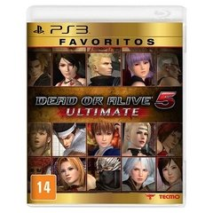 DEAD OR ALIVE 5 ULTIMATE TECMO - PS3