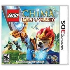 LEGO CHIMA LAVALS JOURNEY WARNER NINTENDO - 3DS