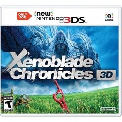 XENOBLADE CHRONICLES 3D NINTENDO - NEW 3DS
