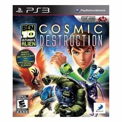BEN 10 COSMIC DESTRUCTION D3PUBLISHER - PS3