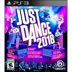 JUST DANCE 2018 UBISOFT - PS3