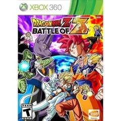 DRAGON BALL Z: BATTLE OF Z BANDAI - XBOX 360