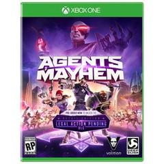 AGENTS OF MAYHEM DEEP S - XONE