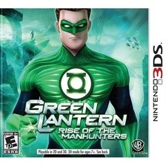 GREEN LANTERN RISE OF THE MANHUNTERS WARNER - 3DS