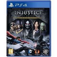 INJUSTICE GODS AMONG US ULTIMATE EDITION - PS4