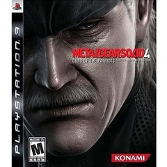 METAL GEAR SOLID 4 KONAMI - PS3