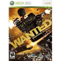 WANTED: WEAPONS OF FATE WARNER - XBOX 360
